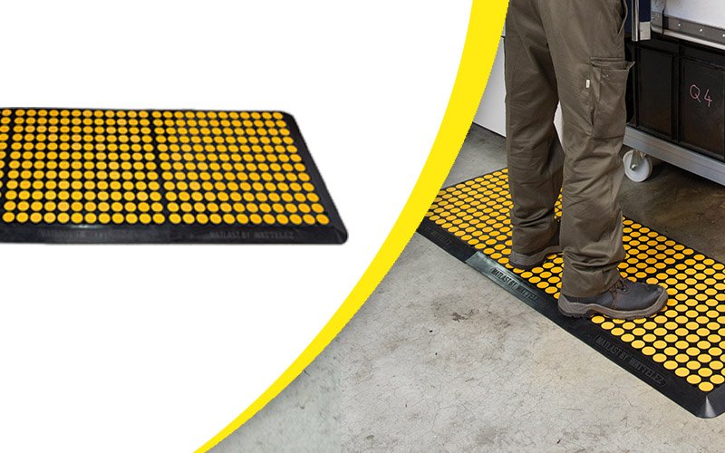 Tapis anti-fatigue : Le Matlast la solution anti-fatigue pour poste statique