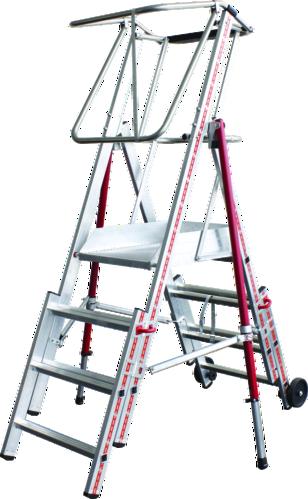 Telescopic work platform