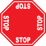 4 Stop Sign