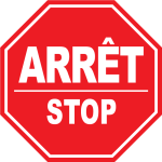 Stop Sign Bilingual