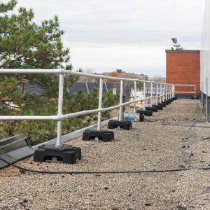 delta prevention vss compact rooftop guardrail 1 lr